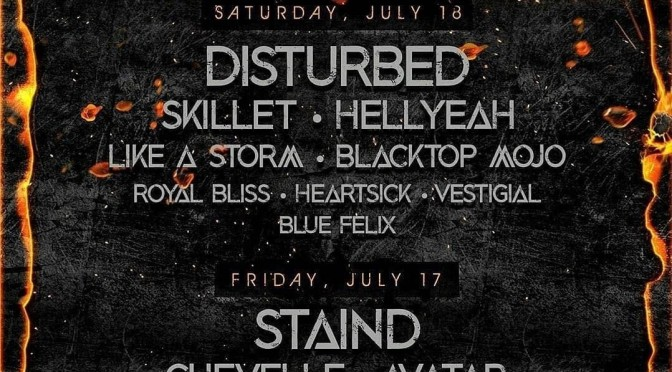 News: Upheaval Fest Lineup announced!